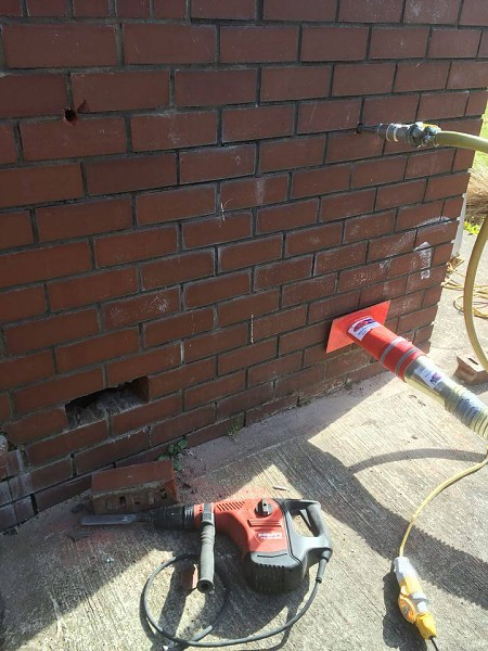 Cavity wall insulation removal cavity wall insulation removal starting the process solutioingenieria Images